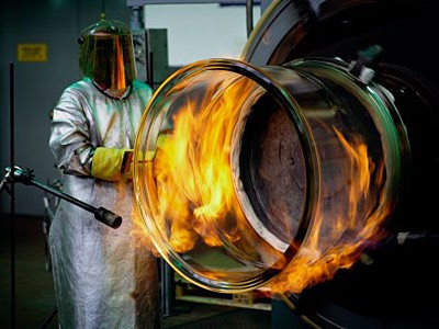 Производство листового стекла (Видео)