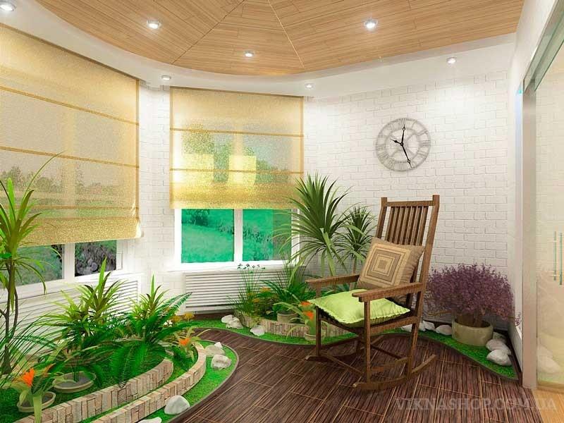 Металлопластиковые окна в интерьере дома и квартиры